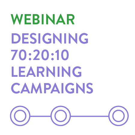 designing 702010 learning campaigns resources
