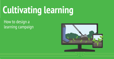 how design a learning campaign