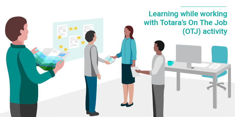 Totara OTJ activity blog post