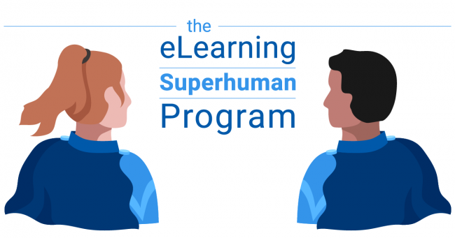 The eLearning superhuman program blog post