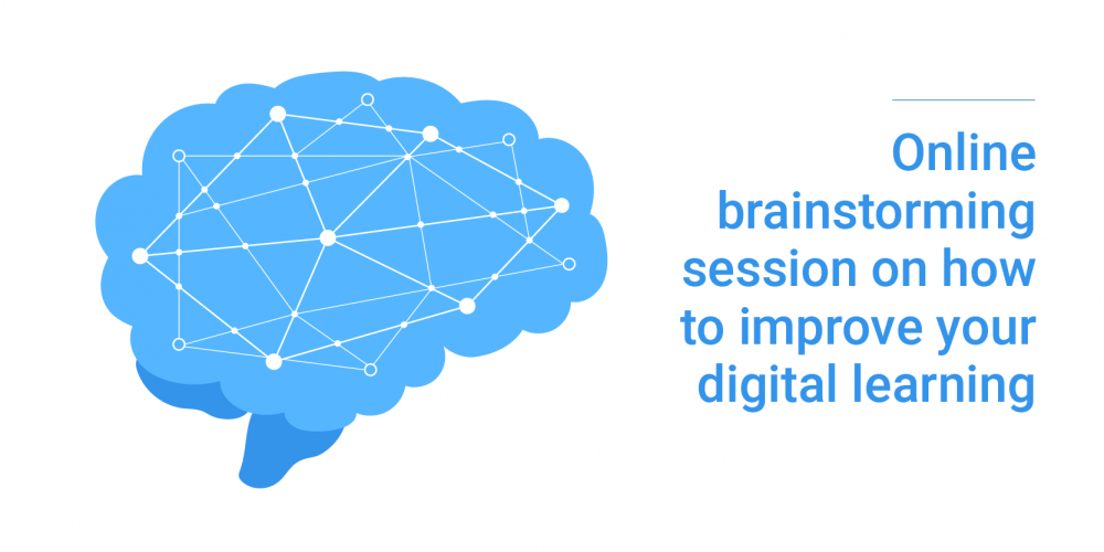 Brainstorm digital learning blog post